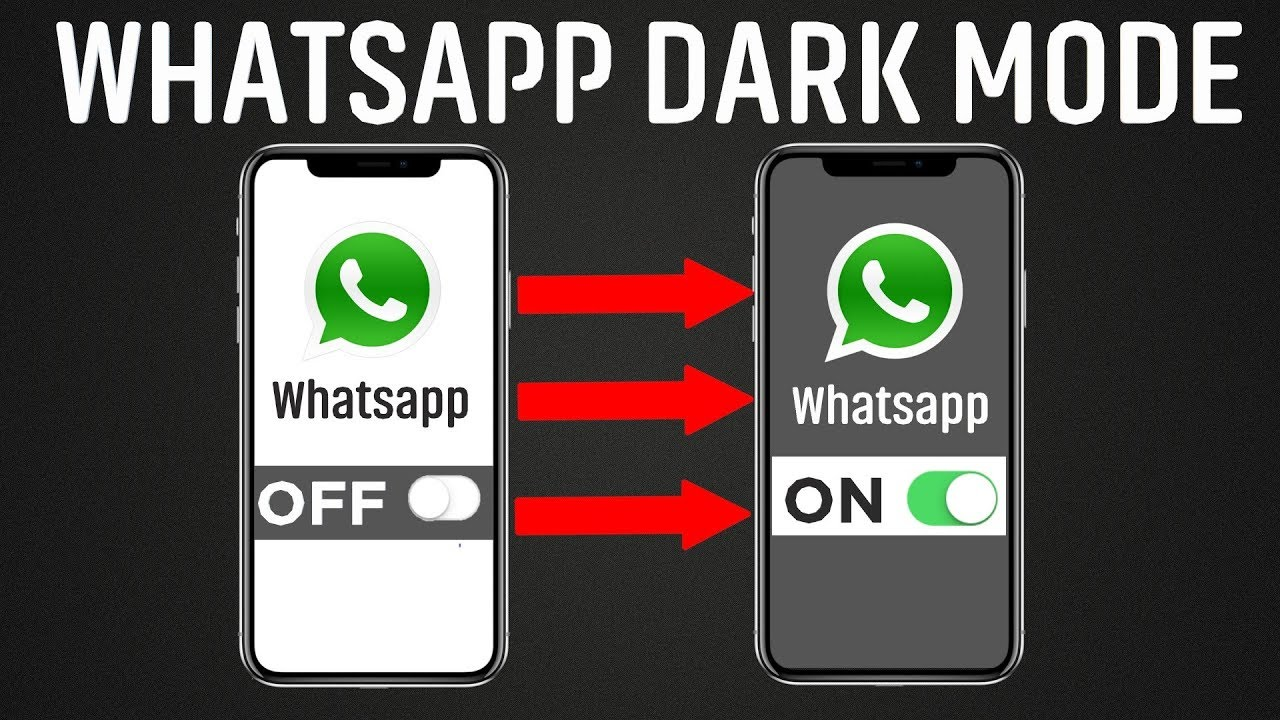 How to enable WhatsApp dark mode on Android and iOS 11