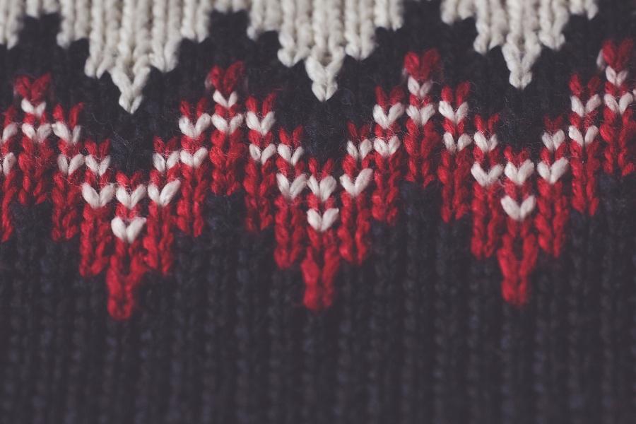 selfstriping yarn
