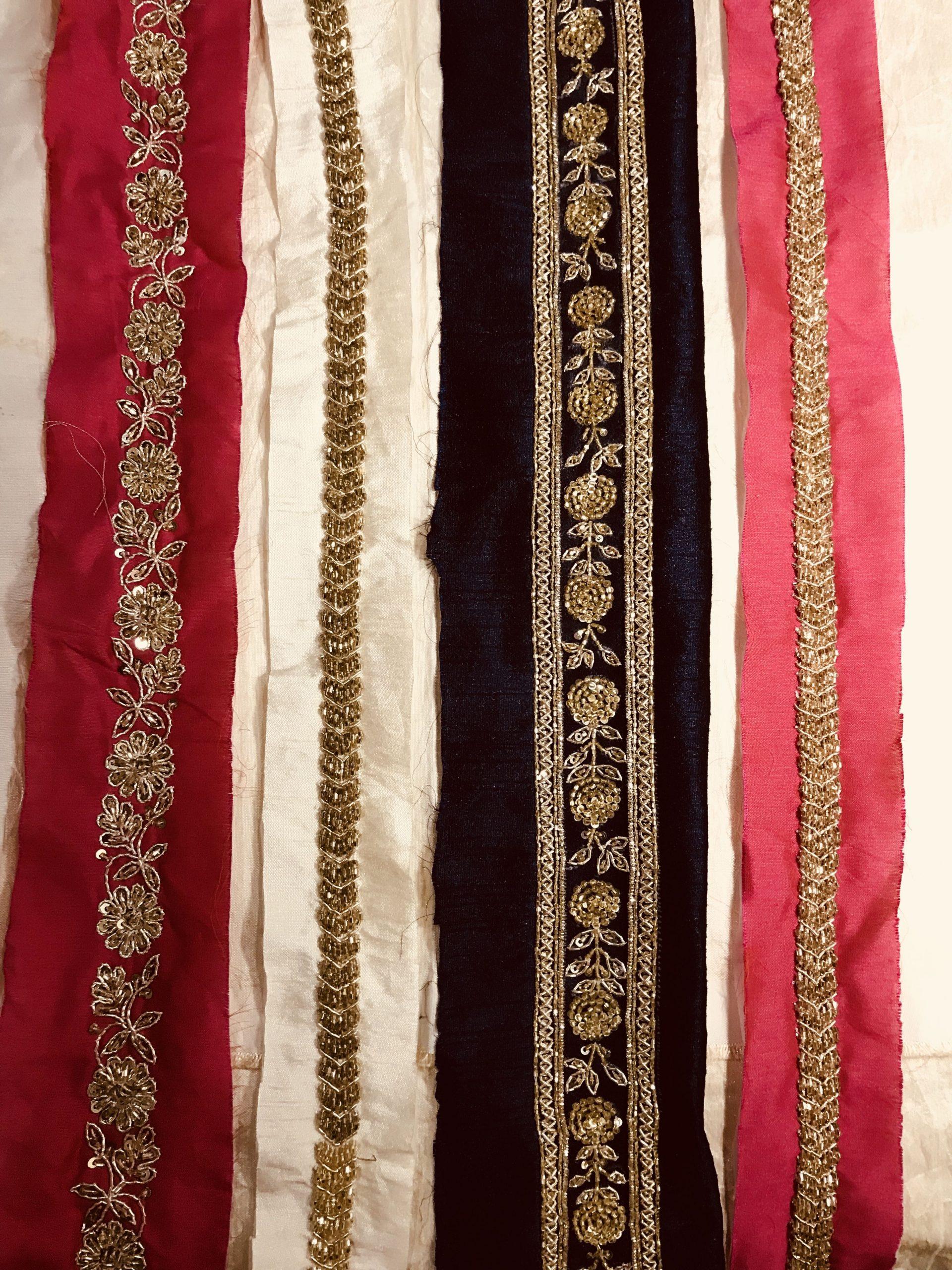Saree Borders- 5 Art Varieties of Them