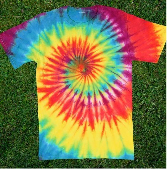 spiral Tie Dye